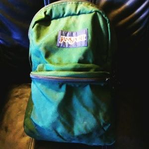 Like New!! Green Jansport Backpack